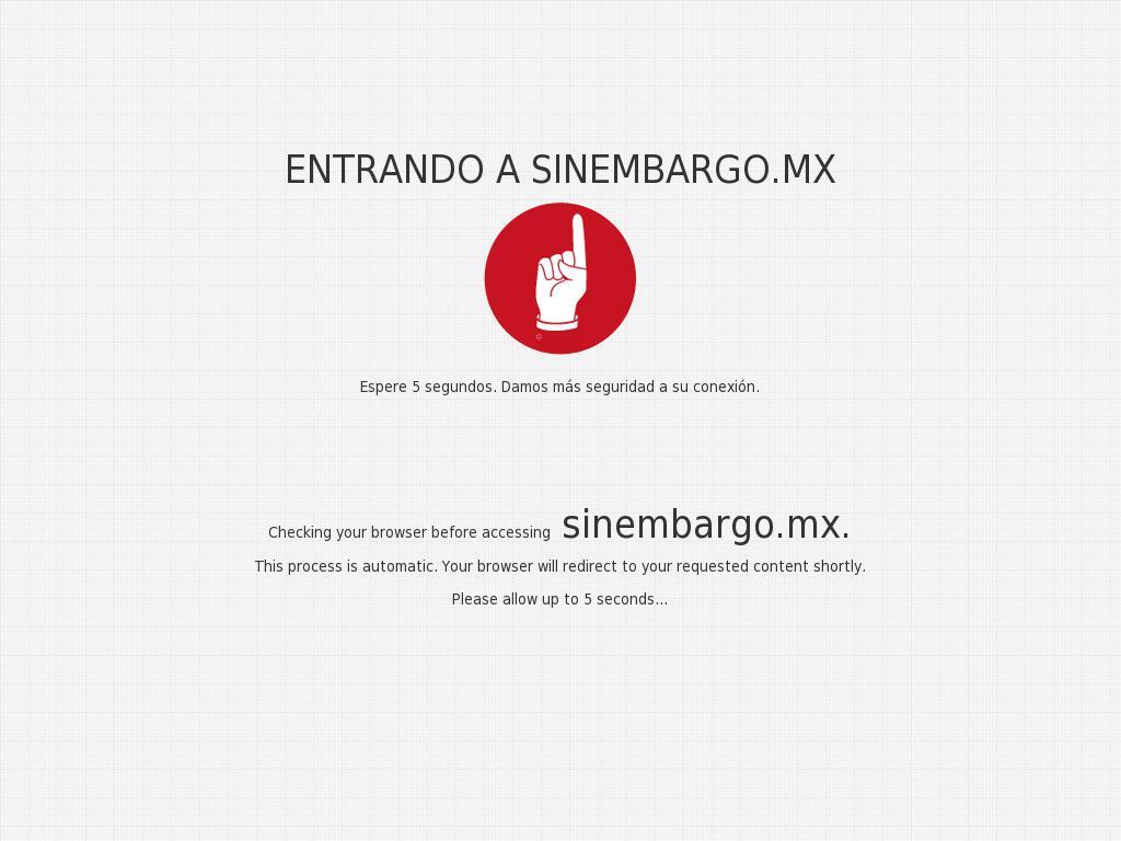 Sin Embargo at Friday Jan. 5, 2018, 2:11 a.m. UTC